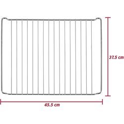 ICQN Backofenrost ICQN Backofenrost, 45,5 x 37,5 cm, Gitter für, Edelstahl