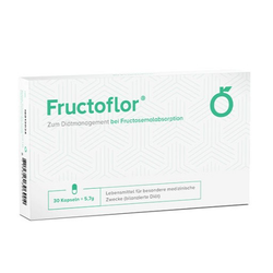 FRUCTOFLOR Fructose Intoleranz & Malabsorption Kps 30 St