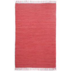 Webteppich Happy Cotton Uni (Rot; 160 x 90 cm)