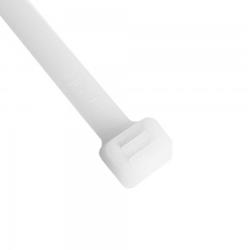 100 Stk. Kabelbinder Kabelhalter 533 x 7,6 mm weiß 2347