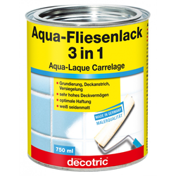 Decotric Aqua-Fliesenlack 3 in 1 750 ml