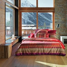 BASSETTI Bernina rot (135x200+80x80cm)
