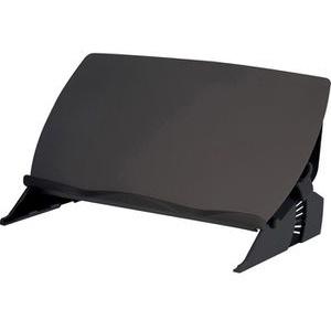 Fellowes Konzepthalter 8210001 Easy Glide, Dokumentenhalter, für DIN A4 und A3 quer, schwarz