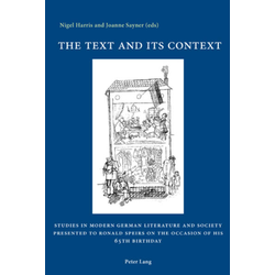 The Text and its Context als Buch von