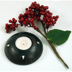 Guru-Shop Windlicht Kerzenhalter, Teelichthalter Keramik Nr.11