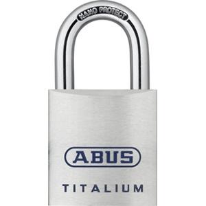 ABUS 80TI/50KA8012 80TI/50 Vorhangschloss, 50mm