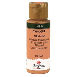 Rayher Allesfarbe Acrylfarben haut 59,0 ml, 1 St.