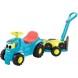 Ecoffier 2 in 1 Superpack Traktor mit Anhänger und Rasenmäher