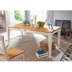Home affaire Esstisch Marissa, Landhaus-Design pur