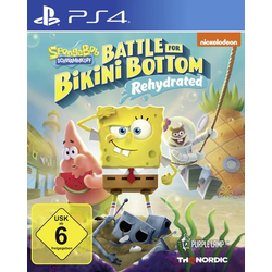 Spongebob SquarePants: Battle for Bikini Bottom - Rehydrated PS4 USK: 6