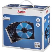 Hama CD-Leerhülle Slim Line 100 schwarz