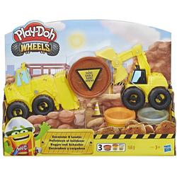 Hasbro Knete Play-Doh Schaufelbagger Set