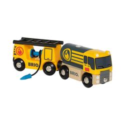 BRIO® Spielzeug-Eisenbahn Tankwagen mit Anhänger