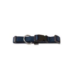 Wolters Tier-Halsband Basic, Nylon blau 0 cm x 45 cm - 65 cm
