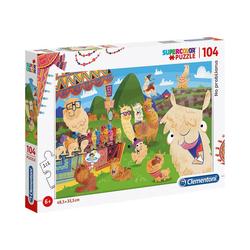 Clementoni® Puzzle Puzzle 104 Teile - No ProbLAMA, Puzzleteile