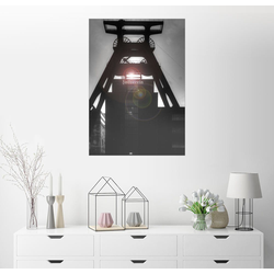 Posterlounge Wandbild, Doppelbock – Zeche Zollverein 30 cm x 40 cm