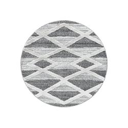 Teppich PISA 4709, Ayyildiz, rund, Höhe 20 mm Ø 120 cm x 20 mm