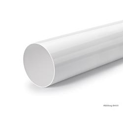 Rundrohr 150, Lüftungsrohr, weiß, L 900 mm