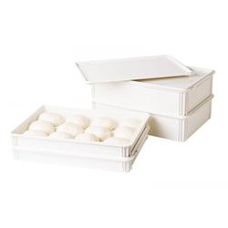Cambro Pizzateig-Box Weiß VE 6 Stück