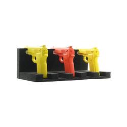 Waffenhalter für 5 Kurzwaffen schwarz, Rottner, 37.5x13.5x20 cm