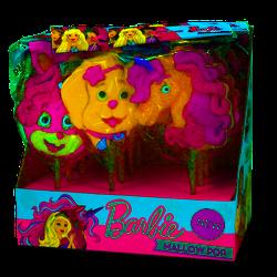 Barbie Welpen Marshmallow Pops Schaumzucker Lutscher süß 35g