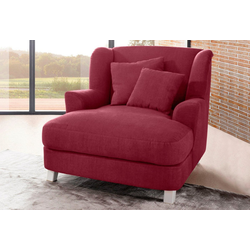 sit&more Ohrensessel rot