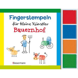 Fingerstempeln Bauernhof-Set
