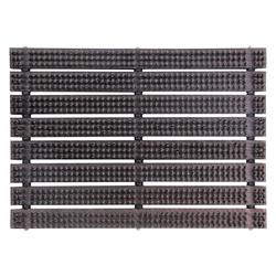 Fußmatte Schuhabtreter Fußabtreter Bürstenmatte Abstreicher Fußmatte 60 x 40 cm, ONDIS24, rechteckig, Höhe 60 mm
