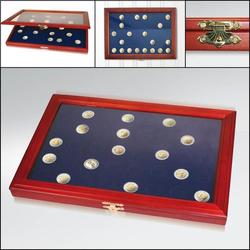 Münzen-Vitrinen für 2-Euro-Münzen