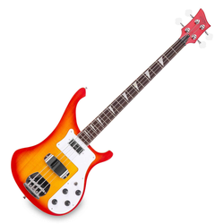 Rocktile Redneck E-Bass Red Sunburst