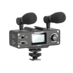 Saramonic CaMixer Kond.Mikrofon-System mit XLR Eingang