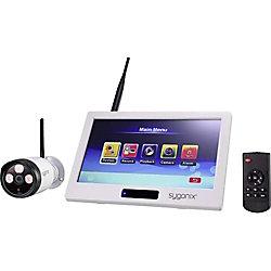sygonix 1594378 CCTV Sicherheits Kamera IP66 Außen 1.920 x 1.080 Pixel Weiß