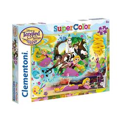 Clementoni® Puzzle Puzzle 104 Teile - Rapunzel, Puzzleteile