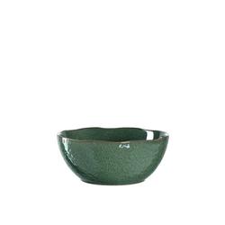 LEONARDO Servierschale Keramikschale 23,5 cm grün Matera, Keramik, (1-tlg)