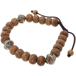 Guru-Shop Armreif Mala Buddha Armband Bodhi Samen, Handmala -..