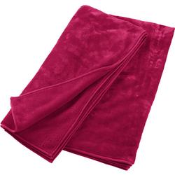 Kuscheldecke, pink - pink