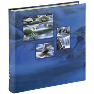 Hama Jumbo-Album Singo, 30x30 cm, 100 weiße Seiten, Aqua