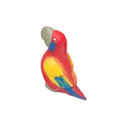 HMF Spardose 489, Papagei mit Schlüssel, 8,2 x 15,5 x 13,5 cm