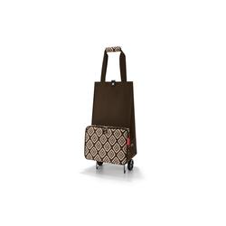 REISENTHEL® Einkaufstrolley Einkaufstrolley faltbar foldabletrolley, 30 l braun