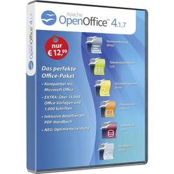 OpenOffice 4.1.7 Standard Vollversion, 1 Lizenz Windows Office-Paket