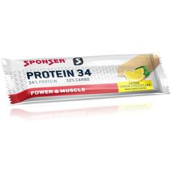 Sponser Protein 34, 24 x 50g Riegel, Lemon-Cheesecake
