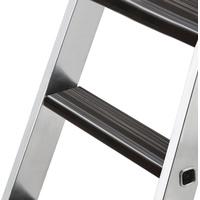 Günzburger Nachrüstsatz clip-step relax Trittauflage für Stufen-Stehleiter GFK/Alu (Art.34120) beidseitig begehbar