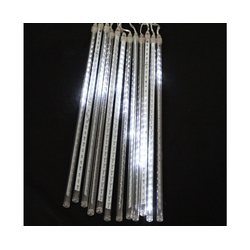 BigDean LED Stripe Meteorlichter LED−Kette 360 LEDs − 12 Stangen mit je 30 LEDs − Schneefall−Effekt
