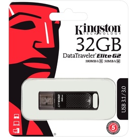 Kingston DataTraveler Elite G2 32GB schwarz USB 3.0