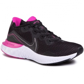 Nike Renew Run W black/white/fire pink/metallic dark grey 36,5