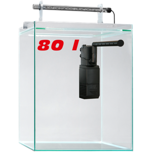 sera Scaper Cube 80 l Starterset inkl. LED und Filter