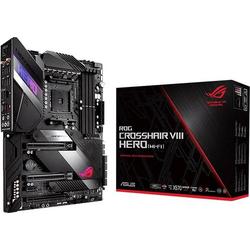 Asus ROG Crosshair VIII Hero (WI-FI) Mainboard Sockel AMD AM4 Formfaktor ATX Mainboard-Chipsatz AMD