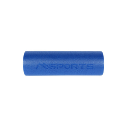 MSports® Pilatesrolle Yoga Rolle Pilates Rolle - 45 x 15 cm oder 90 x 15 cm Faszienrolle schwarz