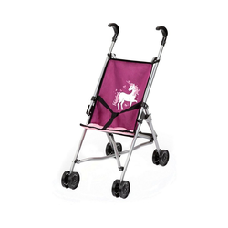 Bayer Puppenwagen Puppen-Buggy, lila lila