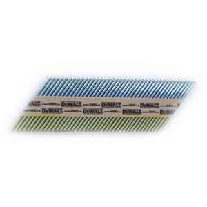 DeWalt 34 Grad Nagel (für Akku-Nagler, D-Kopf-Nägel, drahtgebunden 3,1x 90 mm glatt, 2200 Stück) DNW3190E